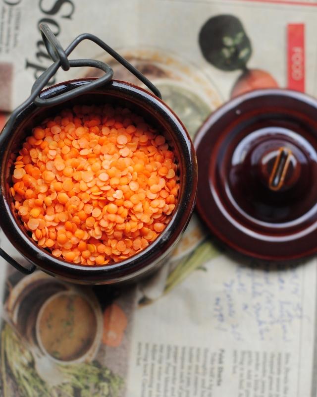 Red lentils/musur daal