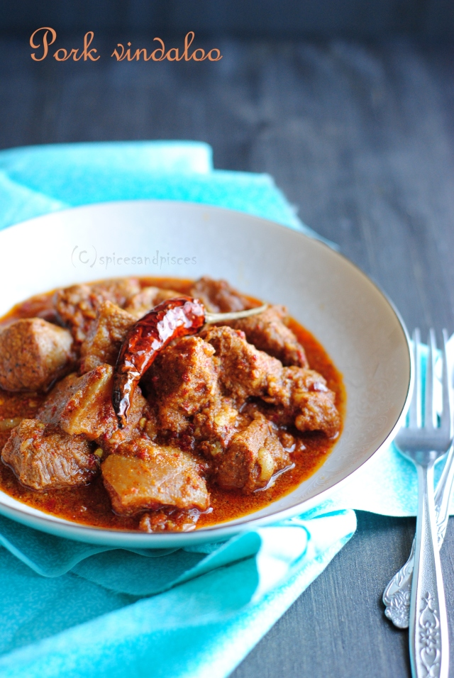 Goan pork vindaloo and the spice connection « of spices ...