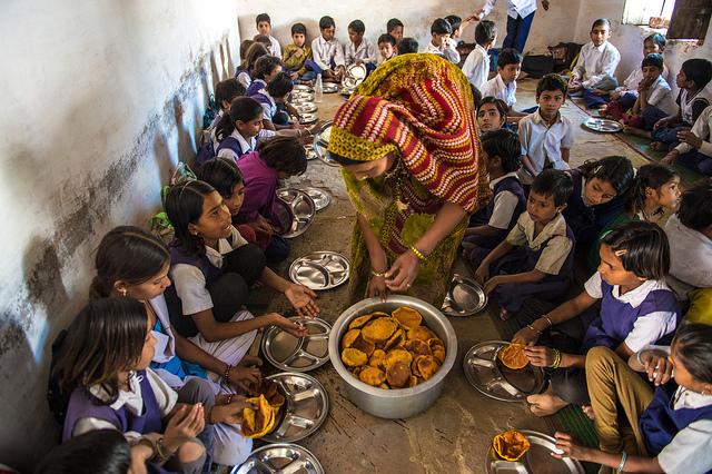 http://en.wikipedia.org/wiki/Midday_Meal_Scheme